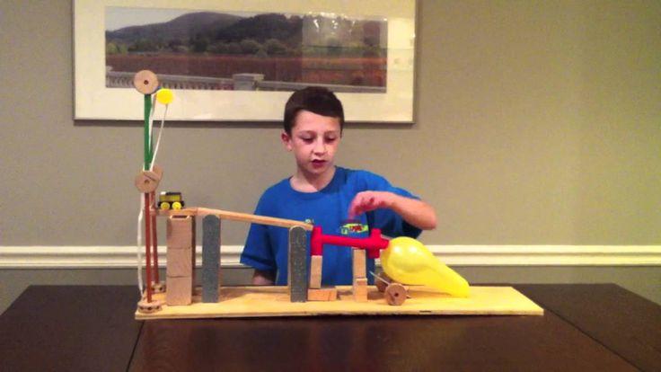 Six Simple Machine Project Using All Six Machines