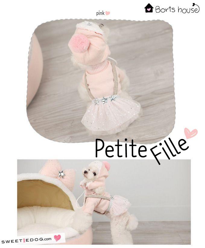 Dog dress Boris House www.sweetiedog.com #dogdress #dogclothes #dog #borishouse #puppy #puppylove #tutu #dogstyle #poodle #star  #pink #sweetiedog
