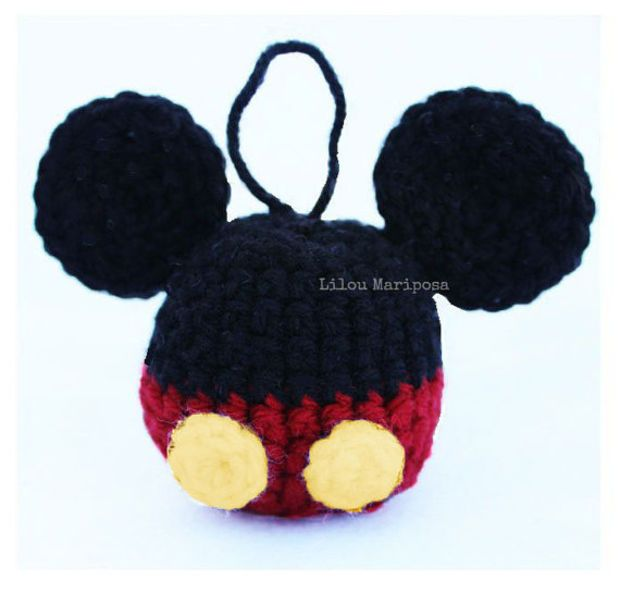 1000+ ideas about Crochet Mickey Mouse on Pinterest ...