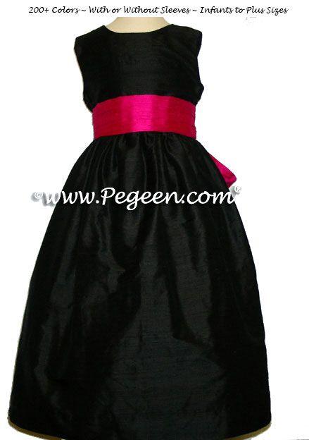 1000  ideas about Black Flower Girl Dresses on Pinterest  Girls ...