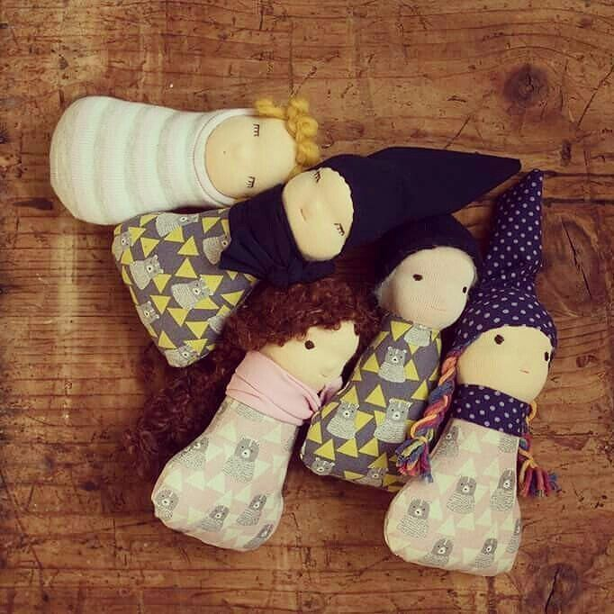 New pocket dolls in our etsy shop. :) #waldorfinspired #waldorfdoll #waldorfmom #doll #naturaltoy #pocketdoll #etsyshop #etsyseller