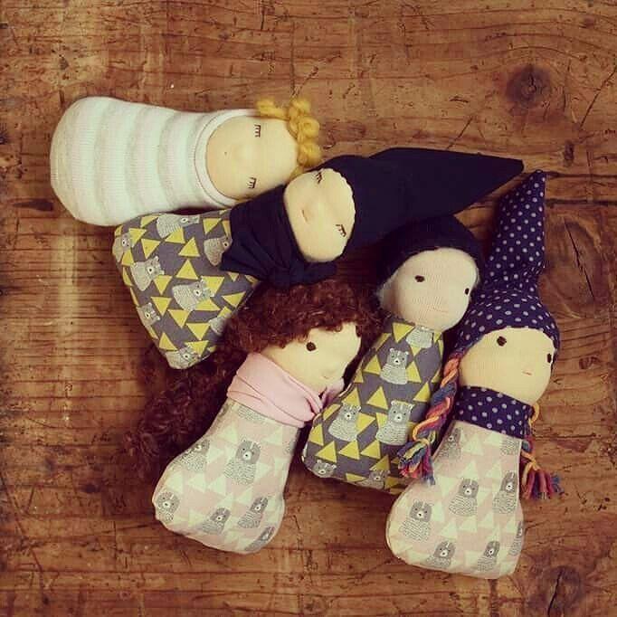 New pocket dolls in our etsy shop. :) #waldorfinspired #waldorfdoll #waldorfmom #doll #naturaltoy #pocketdoll #etsyshop #etsyseller