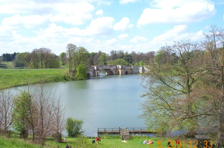 Blenheim Palace, May 2001.