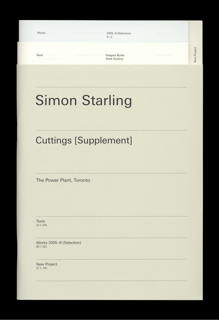 Simon Starling — The Most Beautiful Swiss Books of the year 2008