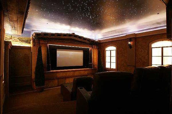 Home Theater...how bout in front of my bed?? :)