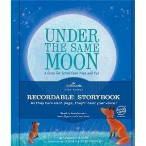 Under the Same Moon- recordable bookDeployment Kids, Reading Book, Records Book, Gift Ideas, Hallmark Records, Deployment Ideas For Kids, Army Wife, Care Packaging, Military Life