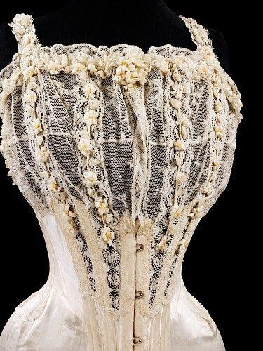 corsets / Bridal Corset - 1905
