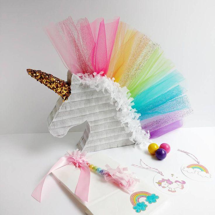 Unicorn Piñata by Lisa Frank Parties