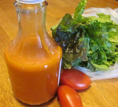 French Salad Dressing (casein-free, egg-free, gluten-free, nut-free, sugar-free, yeast-free)