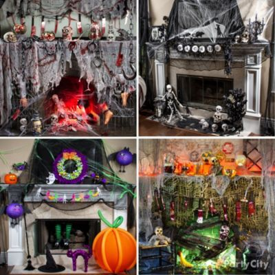 Spine tingling mantels click for a grisly torture chamber for Tortue decoration