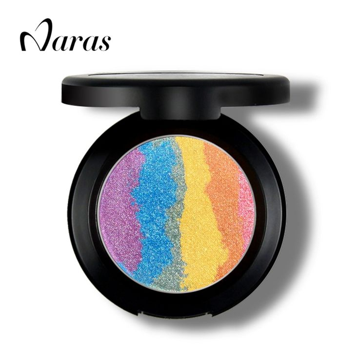 HOT Prism Rainbow Highlighter Makeup Palette Blusher Eyeshadow 3 In 1 Contour Make Up Iluminador Maquiagem Shimmer Eye Shadow-in Bronzers & Highlighters from Health & Beauty on Aliexpress.com | Alibaba Group