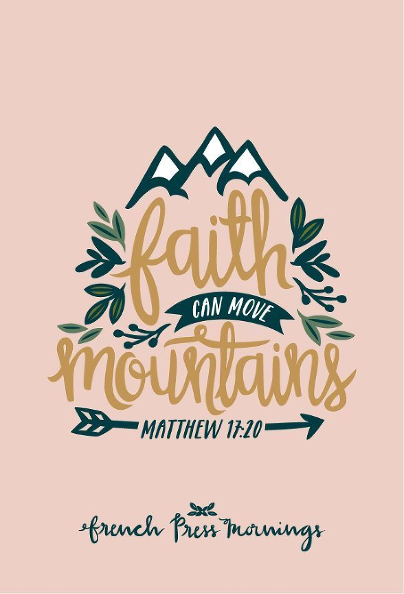 "FPM - Matthew 17:20 - ""Faith can move mountains"" 