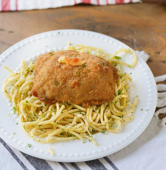 Chicken Cordon Bleu with Lemon Pasta & Barber Foods  This is a sponsored post written by me on behalf of BarberFoods. All opinions are entirely my own. #BarberNight Buttery lemon citrus and cheese pasta with fresh herbs. Served with Barber Foods Chicken Cordon Bleu. Five minutes of prep and this chicken dinner will be ready within 40 minutes. The pasta is light and refreshing. […]   Read the rest of   Chicken Cordon Bleu with Lemon Pasta & Barber Foods  http://www.swankyrecipes..
