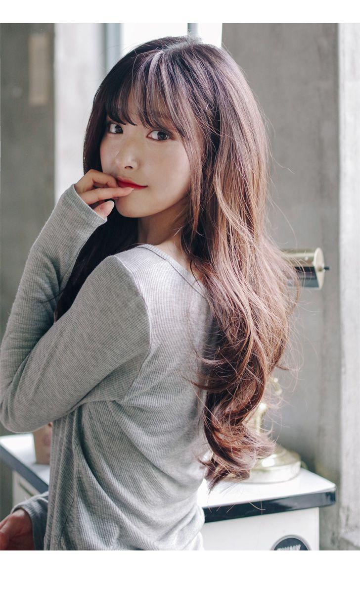 Awe Inspiring 1000 Ideas About Bangs Long Hair On Pinterest Side Bangs Long Short Hairstyles Gunalazisus