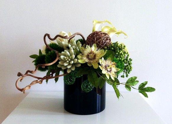 23 Best Contemporary Flower Arrangements Images On
