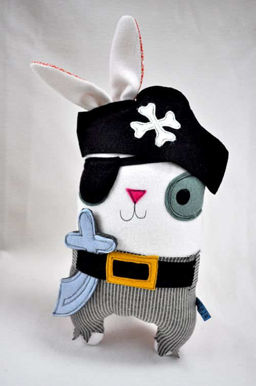 Pirate Bun. I got this baby for Jax for Xmas! Love the Kleja dolls.