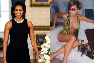 Credit: LA Times and GQ India Conservatives Criticize Michelle Obama For Bare Arms, Stay Silent On Melania Trump's Nude Poses Read More: http://www.trueactivist.com/conservatives-criticize-michelle-obama-for-bare-arms-stay-silent-on-melania-trumps-nude-poses/