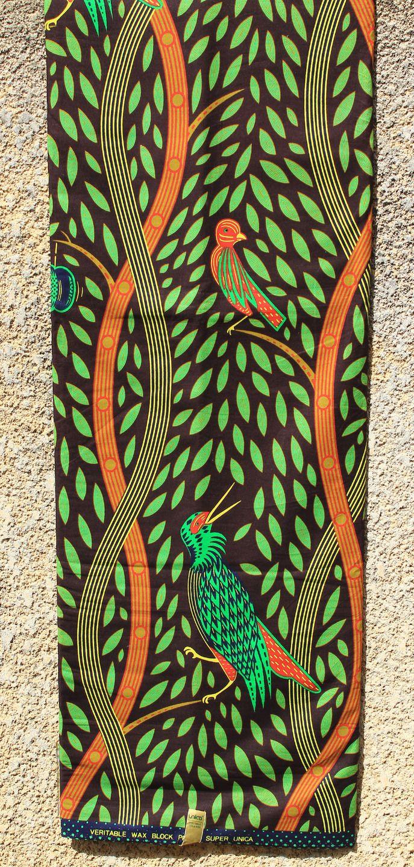 Pagne Wax 49 Unica Wax printed by Waxhaus, tissu africain : Tissus Habillement, Déco par odile-la-beninoise