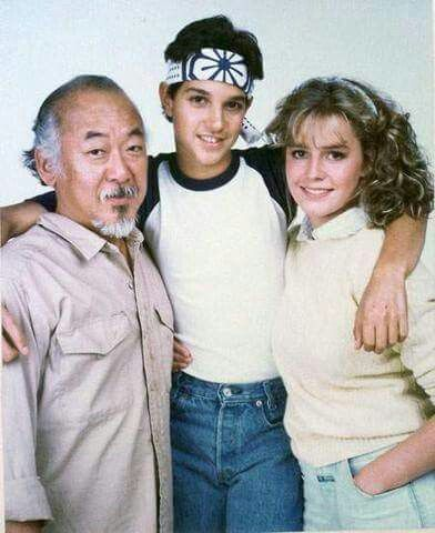 The Karate Kid ( 1984 ) this is actually my favourite picture of this cast❤