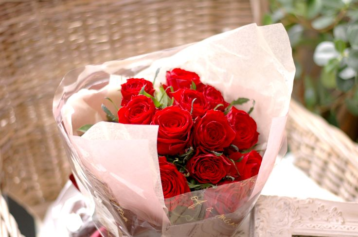 """2016 Bouquet Flower """"Red Rose"""""""