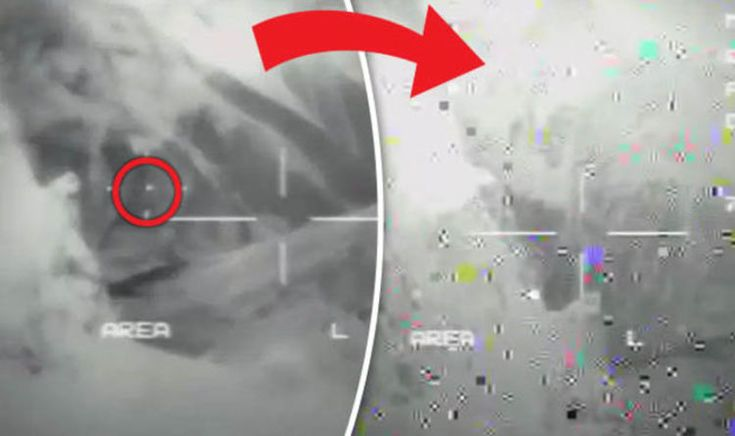 UFO LATEST: 'Leaked' radar footage shows 'UFO destroy US military drone with laser' | Weird | News | Express.co.uk
