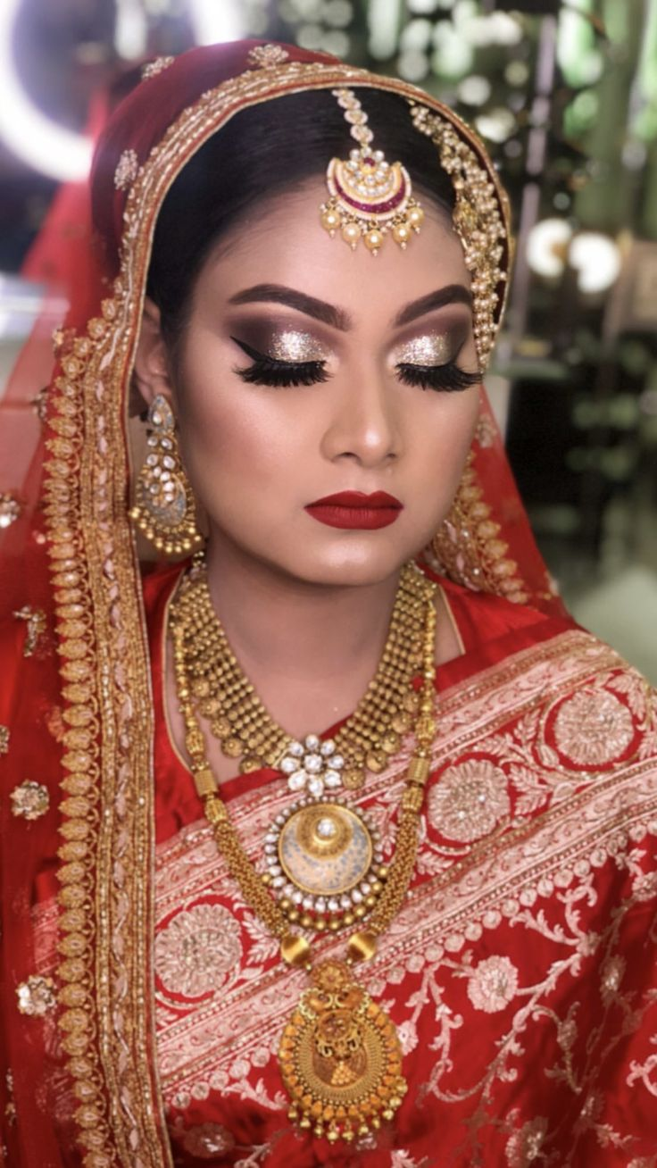Bangladeshi bride in Bangladesh Bridal makeup, Best