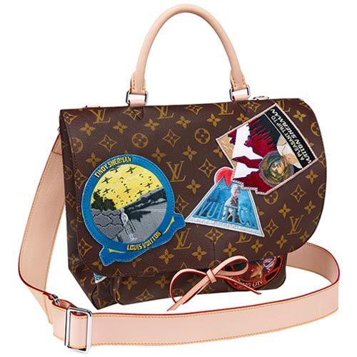 #M40286 Louis Vuitton Monogram Canvas Cindy Sherman Handbag