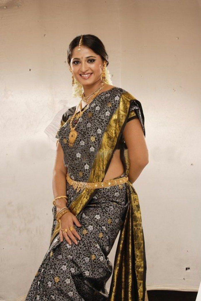 Anushka Shetty in Saree | Veethi