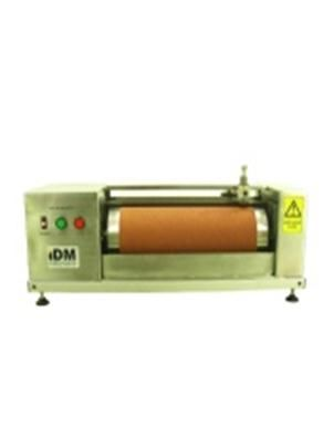 Wet Din Abrader The Wet Din Abrader has been specially designed and manufactured with relevance to international standards to determine the resistance of rubber to abrasion using a cylindrical drum device.  It is manufactured from Stainless Steel to enable it to be used with water.