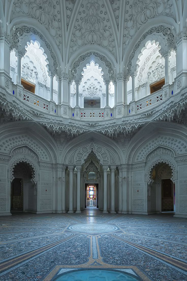Castello di Sammezzano has been abandoned for 30 years. It sits in the foothills of Tuscany.