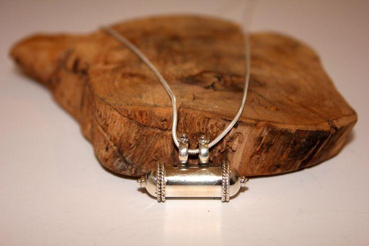 Sterling silver locket/amulet/pendant by EastOfEdan on Etsy