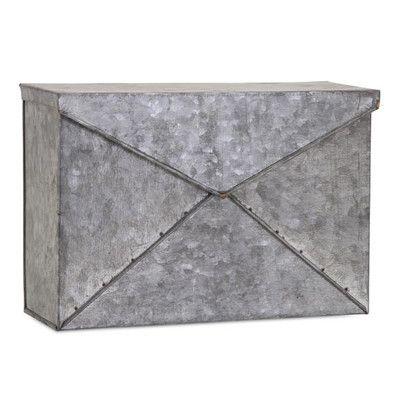 Woodland Imports Shelley Wall Mounted Mailbox & Reviews | Wayfair