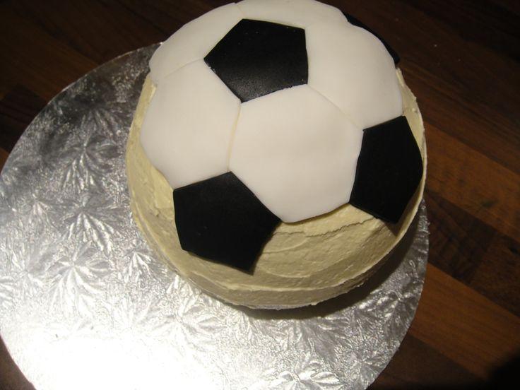 Soccer ball cake (8)