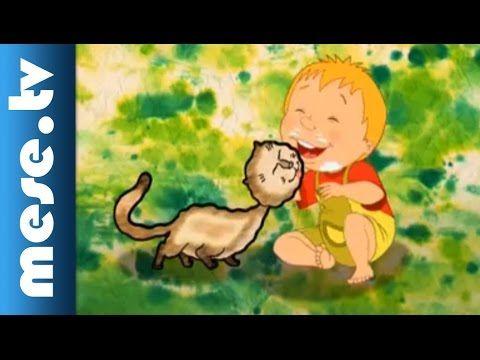 Halász Judit: Tíz kicsi cica (gyerekdal, animáció)