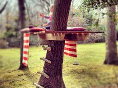DIY simple tree house