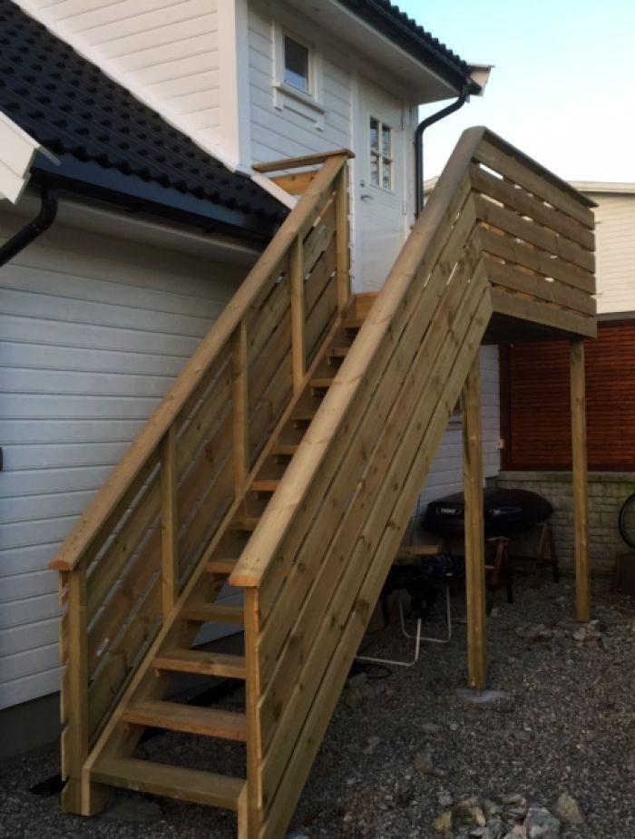 Ny #trapp til 2. etasje i #garasjen.