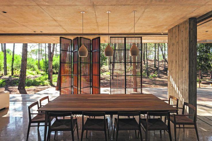 #Comedor #Casa diseñada por ATV arquitectos - Foto: Albano García cedidas por ATV