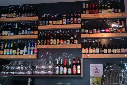 Le Bouillon Belge, le paradis de la bière du 20ème   omnomnomparis
