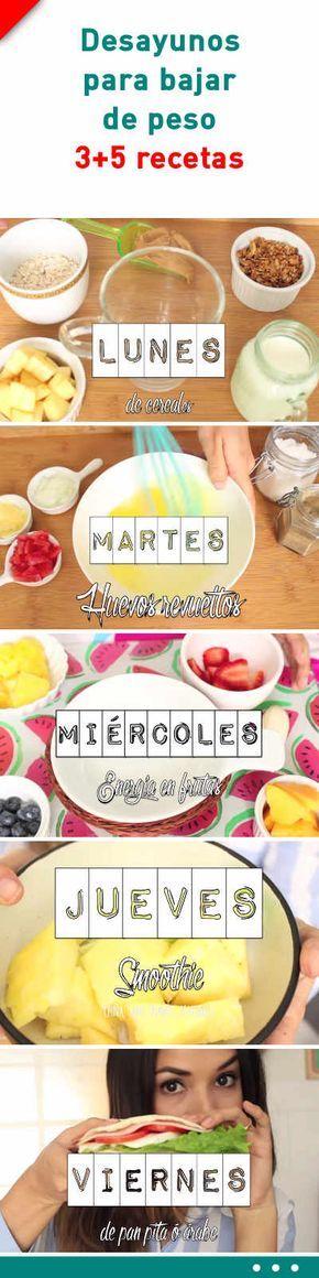#desayunosorpresa para #bajardepeso peso. 3+5 #recetas