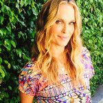 molly sims Prints 1 feathed