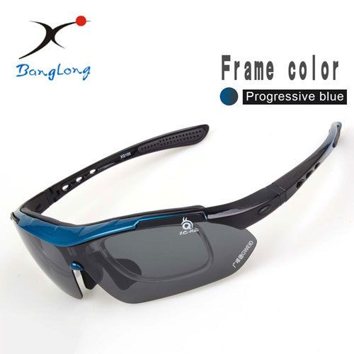 Polarized Sunglasses Sport Golf Sunglasses UV400 Fishing Glasses 5 Interchangeable Lens fishing accessories Ciclismo Using XQ100 Like and share! Visit us