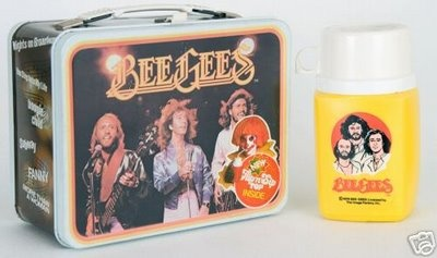 These Bee Gee lunch boxes were quite popular back in elementary school. Yeah, I'm old.