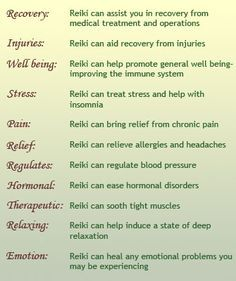 The benefits of reiki like church or some other group if it helps