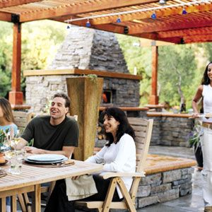 Tips on creating an outdoor kitchen plus a link to a website with prefabricated wood fire pizza ovens.: This Old Houses, Design Your Outdoor Kitchens, Photo, Wood Fire, Thisoldhouse With, Prefabricated Wood