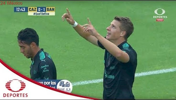 Gol de Julio Furch | Cruz Azul 0 - 1 Santos | Apertura 2017 - Jornada 9 | Televisa Deportes