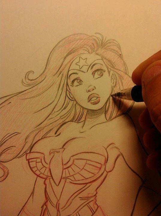 Wonder Woman by Pedro Perez