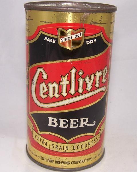 Centlivre Beer, Lilek #182, Grade 1- – Beer Cans Plus