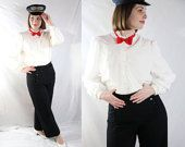 US Navy Uniform, Wool Pants, Militaria, Wool. Nautical Sailor, 1940s Pants, WW2