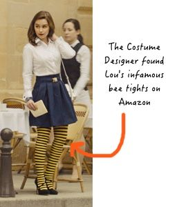 76d7791fd75441 Me Before You fashion: Lou's bumble bee tights #mebeforeyou #louisaclark  #louclark #emiliaclarke | Me Before You Movie Fashion in 2019 | Fashion, Bumble  bee ...