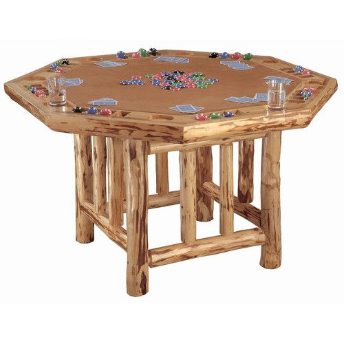 "Found it at Wayfair - 52"" Player Octagon Poker Table"